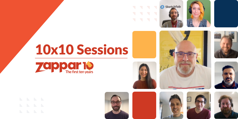 For this 10x10 Session, the Co-Founder and CEO of Zappar Ltd (Caspar Thykier) is joined by Charlie Fink (XR Consultant, Columnist, and Author).