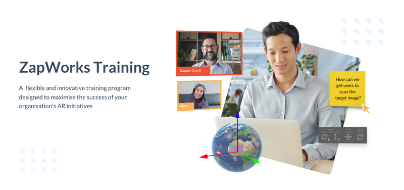 Upskill in AR with our all-new ZapWorks Training, designed to help your business and teams get the most out of AR. Our Customer Success Manager, Tom DeFraine, runs through how it came about, and what you can expect when you sign up.