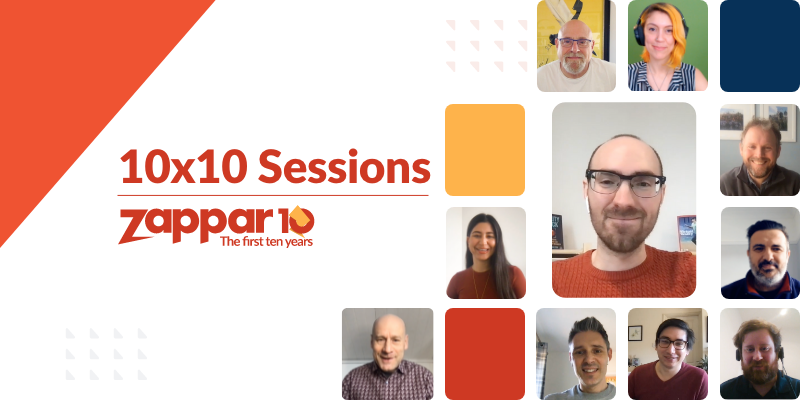 In this 10x10 Session, Zappar's Sales Director (Martin Stahel) is joined by Jeremy Dalton, the Head of XR at PwC UK.