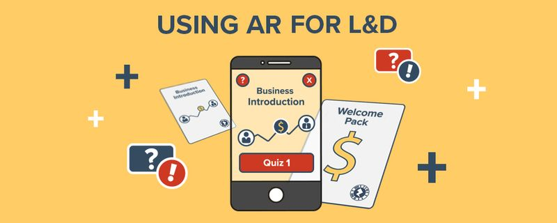 Discover how you can use augmented reality for Learning and Development. Whether it be in a classroom or an eLearning course, find out how AR can keep your learners engaged and immersed.