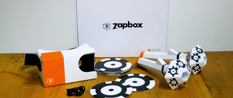 Now available for sale for just $30, ZapBox is the affordable, democratic and awesome mixed reality solution.