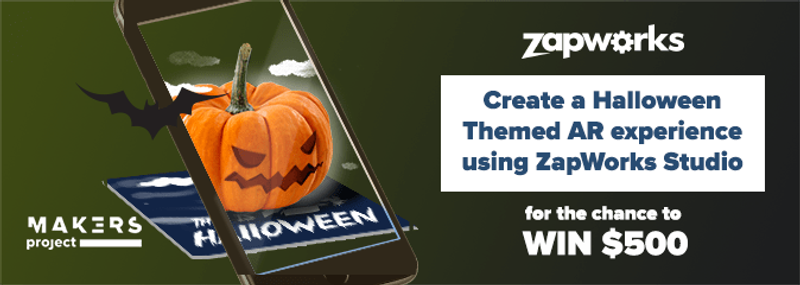 At Zappar we love seeing the amazing experiences our ZapWorks users create, which is why for Halloween 2017 we're challenging you to create a Halloween themed AR experience that will give our expert panel the fright of their lives!