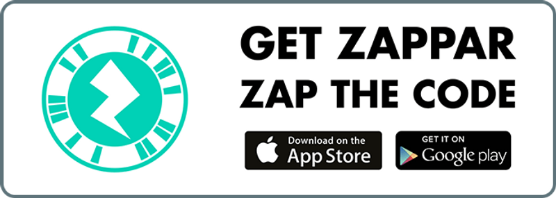 So first off what is a Zapcode Creator widget code? Well it's a little digital bundle of goodness. A personal code that anyone can create for free that is like their own interactive multi-media showcase in a super bite-sized format.