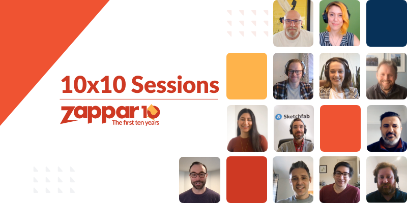 We are delighted to announce that we will be launching our 10x10 Sessions next week - a series of inspiring ten-minute (or so) interviews with the great and the good of XR.
