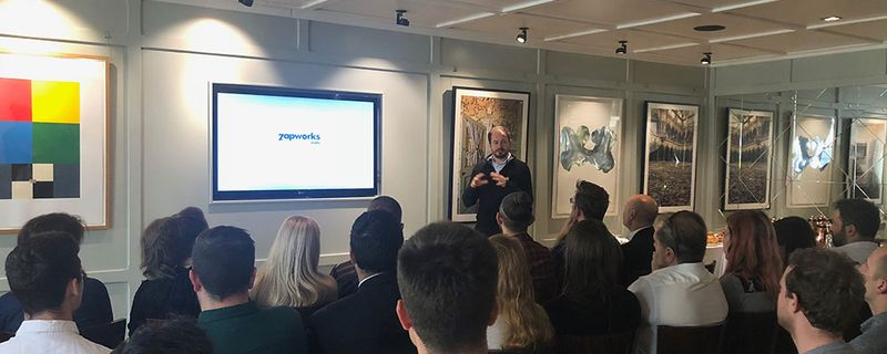 Last month, we hosted the very first ZapWorks meetup for our talented community of AR enthusiasts. Hosted at Groucho Club in central London, the breakfast meetup was an opportunity for fellow ZapWorks users to mingle, share ideas and help each other with common challenges faced on their collective journeys to becoming AR creators.