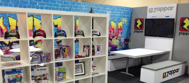 We like to think that Licensing Expo 2013 was bigger and better for Zappar. Our booth was certainly bigger, upgrading from the size of a telephone booth last year to the floor space of an average New York studio apartment this year.