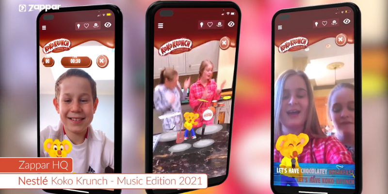 Check out our top AR experiences for the month of March 2021!  Spring has sprung and we've been working with Nestlé, FlyAR, and Valio to produce ever-more creative AR experiences.