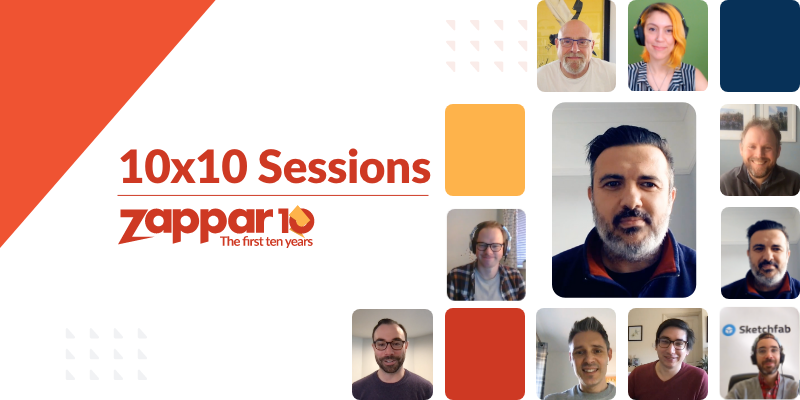 In this 10x10 Session, Zappar Co-Founder and CEO (Caspar Thykier) is joined by Mark Hewitt, a Connected Packaging Specialist.