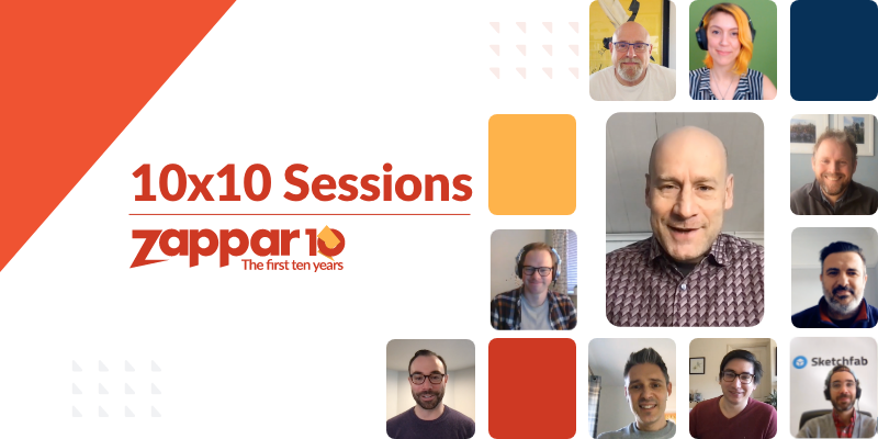 For this 10x10 Session, the Co-Founder and CEO of Zappar Ltd (Caspar Thykier) is joined by Ori Inbar, the founder of Super Ventures and AWE.