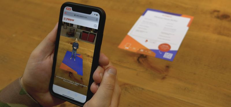 Publish AR content directly to the mobile web, no apps required.