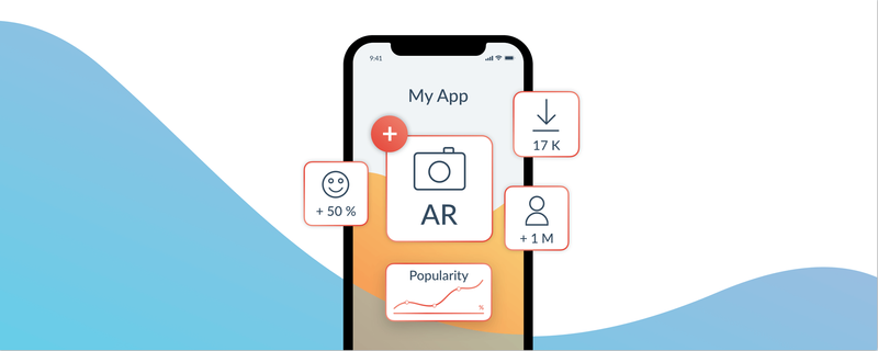 If brands already have an app with a substantial user base, thinking about how this can be used as a gateway to AR experiences is an excellent start.
